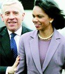 Condoleezza Comes to the Spiritual Centre of the World