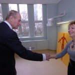Penny meets HRH The Duke of Edinburgh